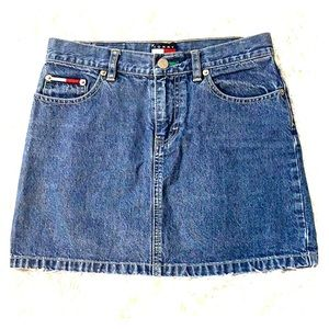 Vintage Tommy Jeans Denim Mini Skirt